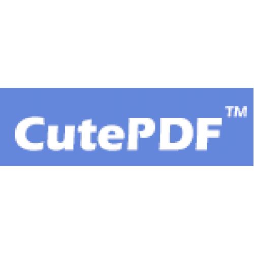 CutePDF Professional Cutepdf